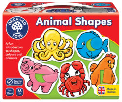Orchard Toys Animal Shapes (Puzzle and Game)