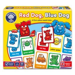 Orchard Toys Red Dog, Blue Dog (Game)