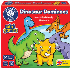 Orchard Toys Dinosaur Dominoes (Mini Game)
