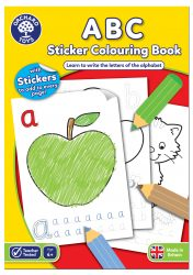 Orchard Toys ABC Colouring (Book with Stickers)