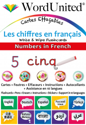 Numbers in French - Write & Wipe (Flashcard kit)