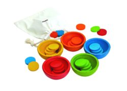 Plan Toys Sort & Count Sorting Cups