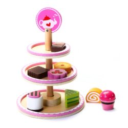 Beehive Toys Tea Cake Stand (Play Food)