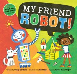 Barefoot Books - My Friend Robot (Book + CD)