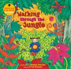 Barefoot Books - Walking Through the Jungle (Book + CD)