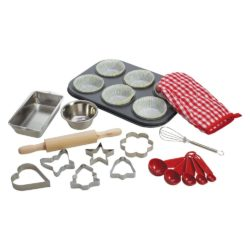 Bigjigs Young Chef's Baking Set with Biscuit Cutters (23 pieces)