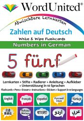 Numbers in German - Write & Wipe (Flashcard kit)