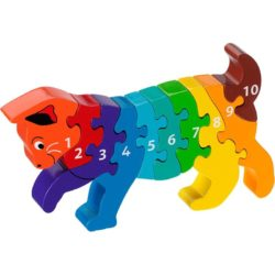 Lanka Kade Fair Trade Cat 1-10 Number Jigsaw Puzzle (Early Numeracy Jigsaw)