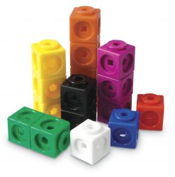 Learning Resources Mathlink Interlocking Linking Cubes (Set of 100)