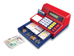 Learning Resources Calculator Cash Register with UK Play Money
