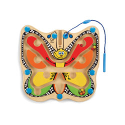 Hape Colour Flutter Butterfly Magnetic Maze (Eco Toy)