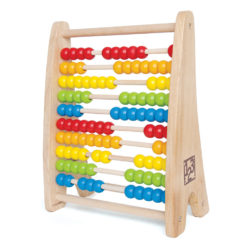 Hape Rainbow Bead Abacus (Numeracy Toy)