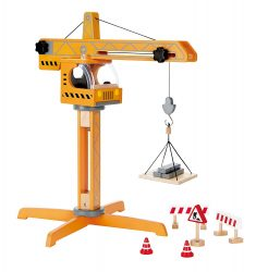 Hape Construction Site Crane Lift