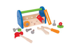 Hape Fix-it Tool Box Eco Toy (Construction Toolbox + Tools)