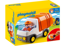 Playmobil 1.2.3 6774 - Recycling Truck with a Sorting Function