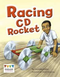 Racing CD Rocket (Engage Literacy White)