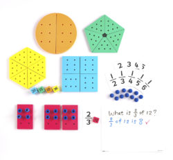 Fractions of Quantities Mathematical Kit