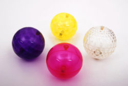 Tickit Large Texture Sensory Flashing Light up Ball Set (Pack of 4 Balls)