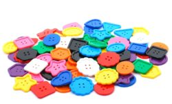Large Buttons - Counters (Pack of 90 Counting Pieces)