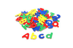 VIGA Wooden Magnetic Alphabet (Pack of 52 Uppercase & Lowercase Letters)