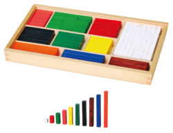 VIGA Cuisenaire Mathematical Counting Rods (Pack of 308)