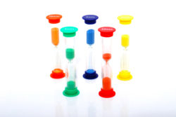 TickiT Midi Sand Timers (Pack of 5)