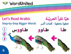 Let's Read Arabic - Step-by-Step Bigger Words