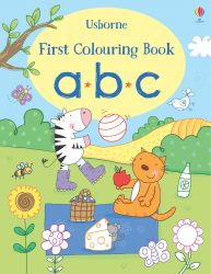 ABC - Usborne First Colouring Book