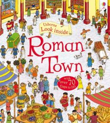 Look inside Roman Town (Usborne Lift-the-Flap)