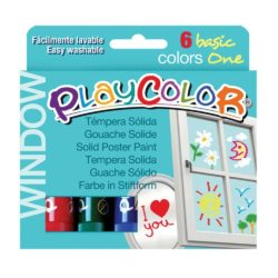 Playcolor Window One Colours (Pack of 6)