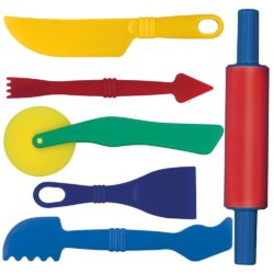 Gowi Toys Modelling Tools for Play Dough (Set of 6)