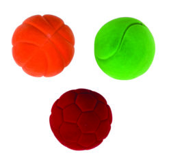 Rubbabu Soft Velvety Small Sensory Balls (Pack of 3)