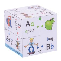 ZooBooKoo Alphabet - First Phonics & Colour Matching (3D Literacy Cube Book)