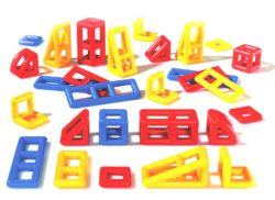 Mobilo Construction Geometric Set (28 Pieces)