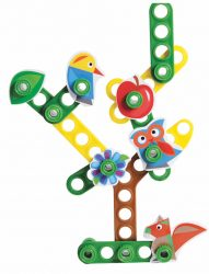 Michi Tree Construction Set with Bucket (160 Pieces)