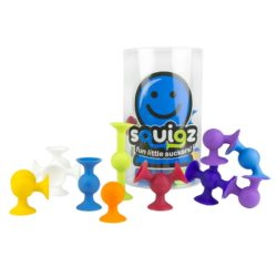 Fat Brain Toys Folkmanis Squigz - Starter Set (24 Pieces)