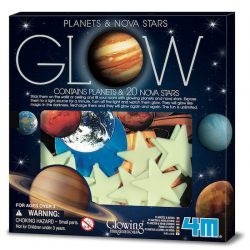 4M Glow Planets, Supernova and Stars (20 Pieces)