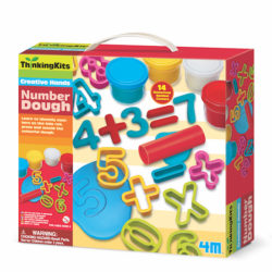 4M Thinking Kits - Number Dough Kit (14 Cutters + 4 Tubs of Dough)