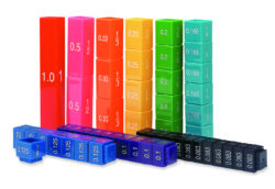 Learning Resources Fraction Tower Cubes - Equivalency Set (51 Pieces)