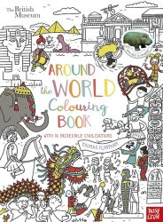 Around the World Colouring Book (Nosy Crow)