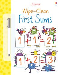Usborne Wipe-Clean First Sums