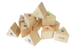 TickiT Sensory Sound Prism Block Set (12 Pieces)