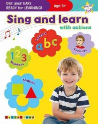 Sing and Learn with Actions (Letterland Book   CD)