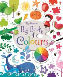 Usborne Big Book of Colours - Big Picture Book + Acetate Page (Usborne Board Book)