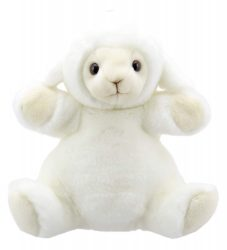 The Puppet Company - Cuddly Tumms Lamb (Puppet   Soft Toy)