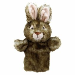 The Puppet Company - Wild Rabbit (Puppet Buddies Animal Hand Puppet)
