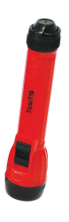 TickiT Handy LED Torch (Handheld Flashlight - Red)