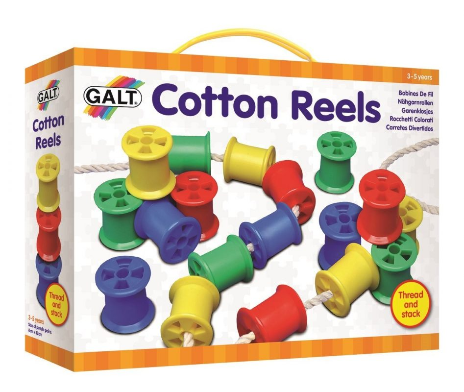 Galt Toys Threading Cotton Reels (Lacing Set) - WordUnited