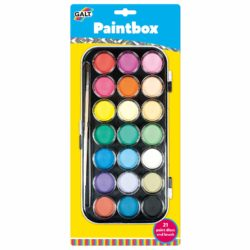 Galt Toys Paintbox (21 Watercolour Discs   Paintbrush)