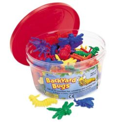Learning Resources Backyard Bugs Counters (Pack of 72 Counting Pieces)